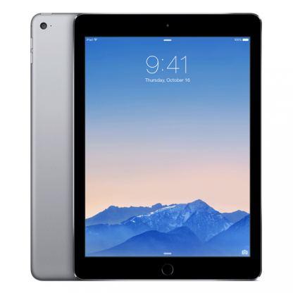 Apple iPad Air 2 Wi-Fi 64GB с ретина дисплей и A8 чип с 64 битова архитектура (тъмносив)