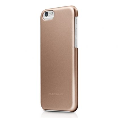 Macally PC case - поликарбонатов кейс за iPhone 6/6S Plus (шампанско)