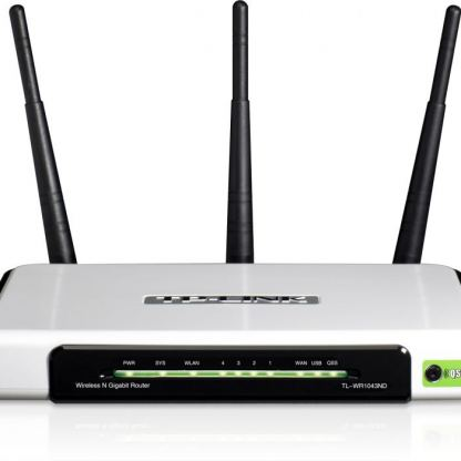 300Mbps TP-LINK TL-WR1043ND Wireless N Router