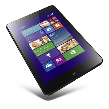 "Lenovo ThinkPad Tablet 8,Intel Atom Z3770(1.5GHz up to 2.41GHz,2MB Cache),2GB,64GB e-MMC,8.3"",Integrated Graphics,Wireless,2xCameras,BT,USB 3.0,mHDMI,mSD,WiDi, 2cell,Win 8.1 with Office H&S,1 Year"