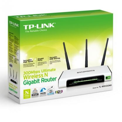 300Mbps TP-LINK TL-WR1043ND Wireless N Router 5