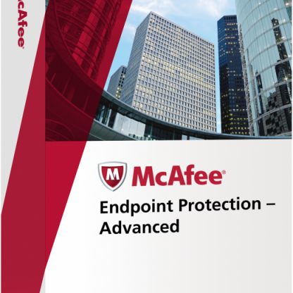 McAfee Endpoint Protection Advanced Suite - лиценз за 11 потребителя
