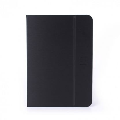 Tucano Filo Hard Folio Case - текстилен калъф с Auto On/Off и поставка за iPad Air 2 (черен)