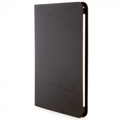 Tucano Filo Hard Folio Case - текстилен калъф с Auto On/Off и поставка за iPad Air 2 (черен) 2
