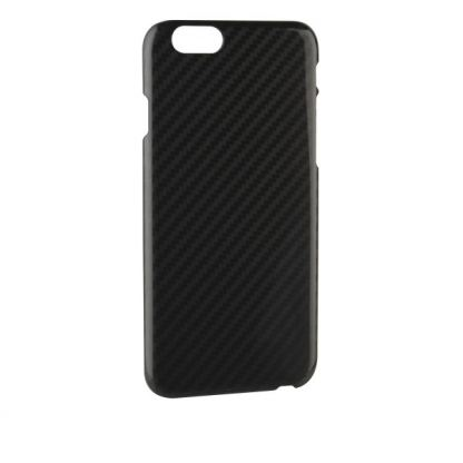 Xqisit iPlate Carbon Case - поликарбонатов кейс за iPhone 6/6S Plus (карбонов)