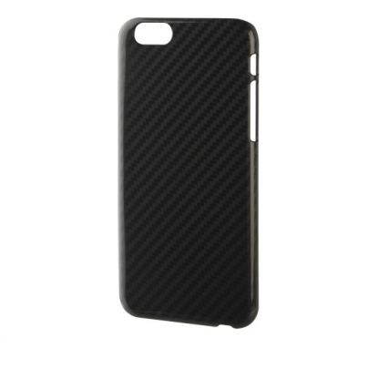 Xqisit iPlate Carbon Case - поликарбонатов кейс за iPhone 6/6S Plus (карбонов) 2