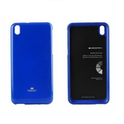 Mercury Goospery Jelly Case - силиконов (TPU) калъф за HTC Desire 816 (син)