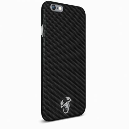 Abarth Scorpion Collection Carbon - дизайнерски карбонов кейс за iPhone 6/6S (карбонов) 2