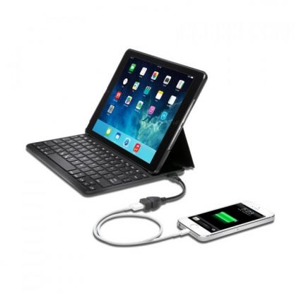 Kensington Thin X3 keyboard - кейс, поставка и блутут клавиатура за iPad Air 2 2