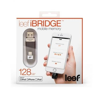 Leef iBRIDGE Mobile Memory 128GB - външна памет за iPhone, iPad, iPod с Lightning (128GB) 3