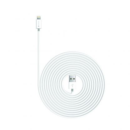 Kanex Lightning to USB Cable 300 cm - кабел за iPhone 6/6S plus, iPad и iPod с Lightning (бял) 2
