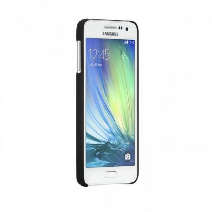 CaseMate Barely There - поликарбонатов кейс за Samsung Galaxy A3 (черен) 3