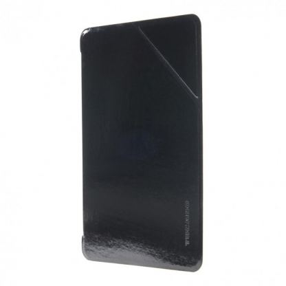 Tucano Slimmy Ultraslim Case - тънък кожен кейс за iPad mini, iPad mini 2, iPad mini 3 (черен)