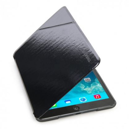 Tucano Slimmy Ultraslim Case - тънък кожен кейс за iPad mini, iPad mini 2, iPad mini 3 (черен) 2