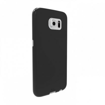 CaseMate Barely There - поликарбонатов кейс за Samsung Galaxy S6 (черен)  2
