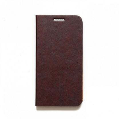 Zenus Original AVOC Toscana Diary Leather Case - кожен калъф тип портфейл за Samsung Galaxy S6 (червен) 2