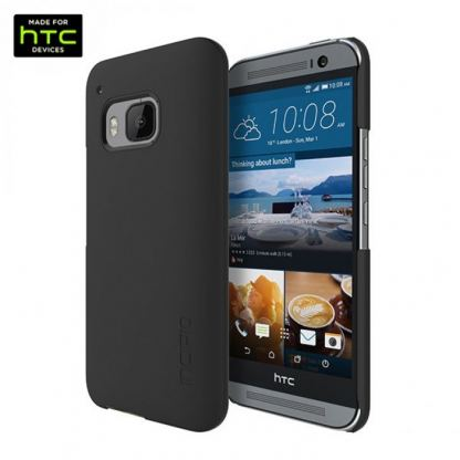 Incipio Feather Case - поликарбонатов кейс за HTC One M9 (черен)