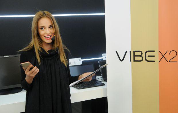 Радина Кърджилова с Lenovo VIBE X2