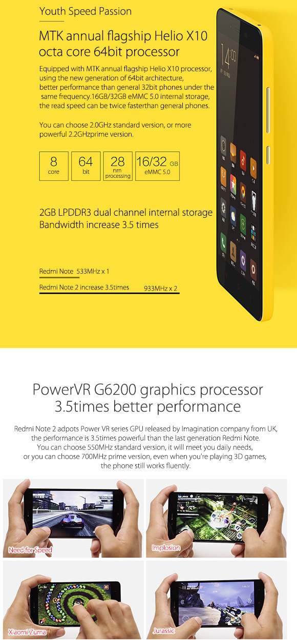 Xiaomi Redmi Note цена от Sim.bg