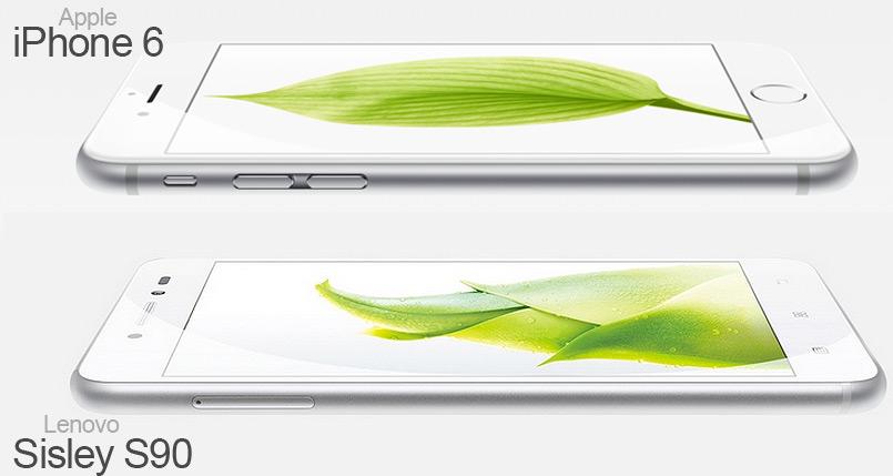 Lenovo S90 VS iPhone 6 цена